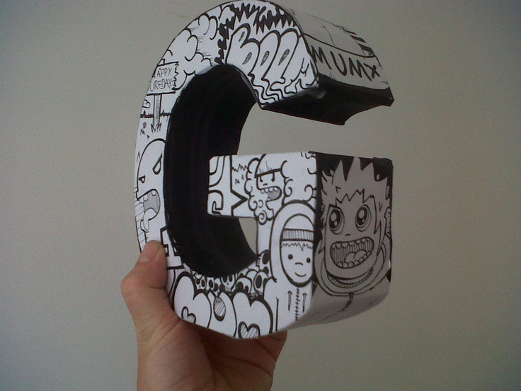 17 best images about cardboard letter ideas on pinterest for Cheap 3d cardboard letters