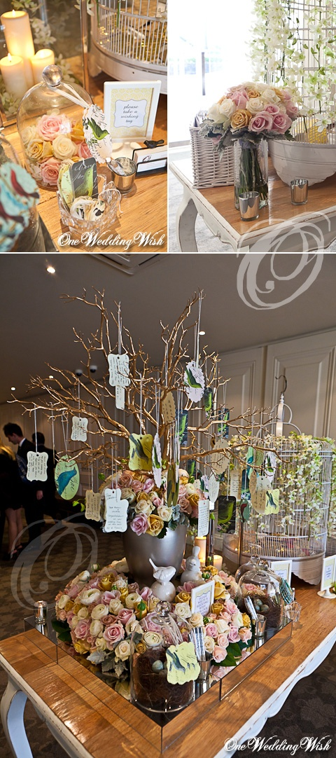 Wish Tree Centerpiece See More Wedding Decorations Www Countrybaskets Co Uk