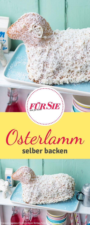 """Das Osterlamm ist ein traditionelles Gebäck, das auf kaum einer feierlichen Kaffeetafel fehlen darf. Erinnern soll es an das Leiden Jesu Christi, """"das Lamm Gottes""""."""