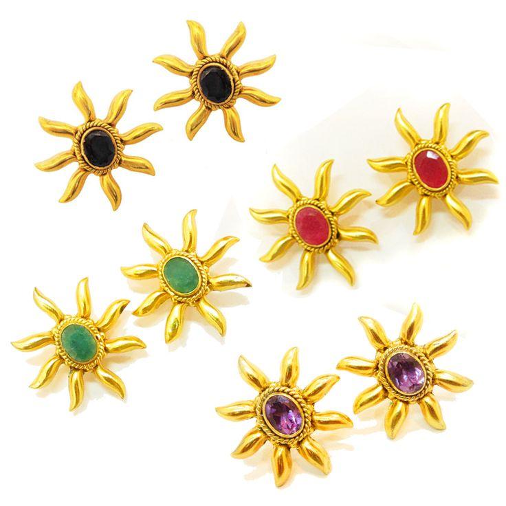 925#Sterling#Silver#India#Amethyst#Black#Onyx# Emerald#Ruby#Natural#Gemstone#Pretty#Stud#Earring#Women#Gift#Item#Free#Shipping http://www.ebay.com/itm/925Sterling-Silver-India-Amethyst-Black-Onyx-Emerald-Ruby-Natural-Stud-Earring-/112511015641?ssPageName=STRK:MESE:IT