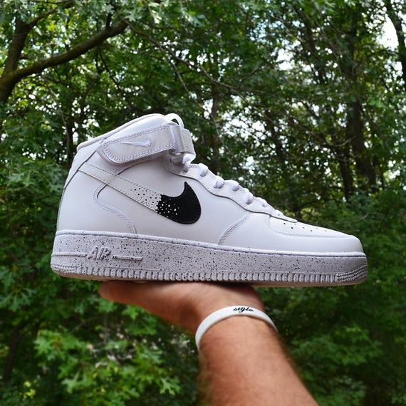 NIKE Air Force 1 Mid '07 Lv8 #crosshatch #crosshatching