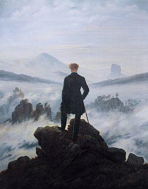 Caspar David Friedrich's Wanderer above the Sea of Fog