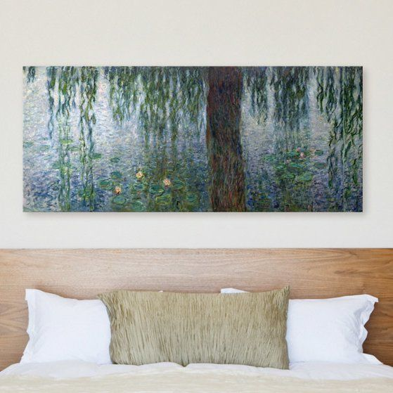 Gallery wrapped print uses , archival inks and a UV protective coating to protect against fading for years to come. The is stretched around sturdy wooden stretcher bars, creating a dramatic piece that won't require a frame.