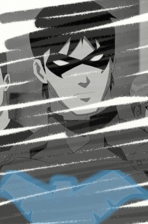 Nightwing on Young Justice. Proof that it is possible to be completely in love with a cartoon.