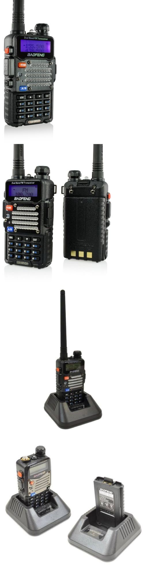 Ham Radio Transceivers: Baofeng Uv-5R V2+ Stronger Case And Enhanced Features Set And Durable Housing! -> BUY IT NOW ONLY: $33.99 on eBay!