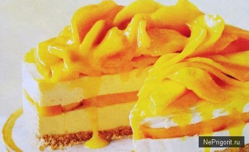 Чизкейк из манго / Не пригорит - кулинарные рецепты с фотографиями
