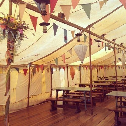 Bilbo Baggins Birthday Party   Party tent (at Hobbiton)