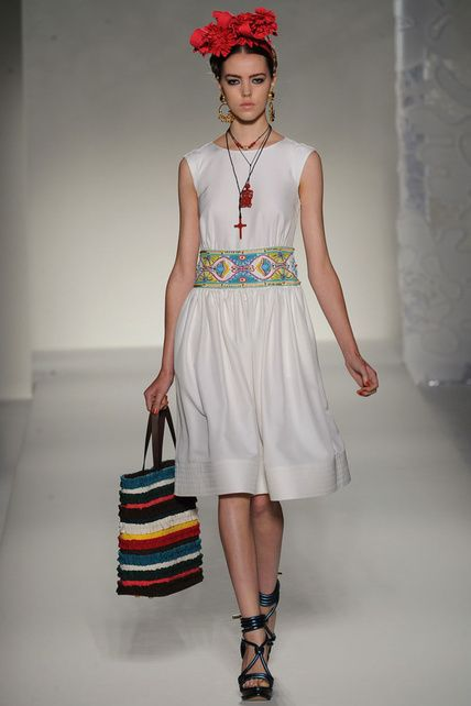 mood board inspirations # Mexican style dress