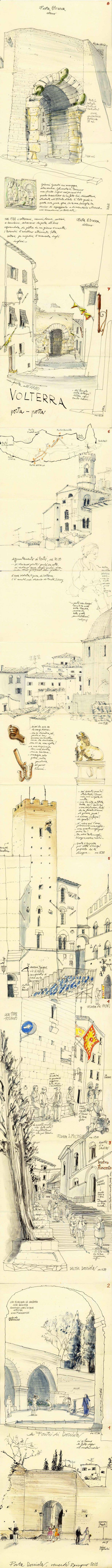 Vertical Volterra Sketchbook