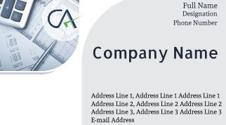 online Visiting Card for Chartered Accountant - Printasia.in
