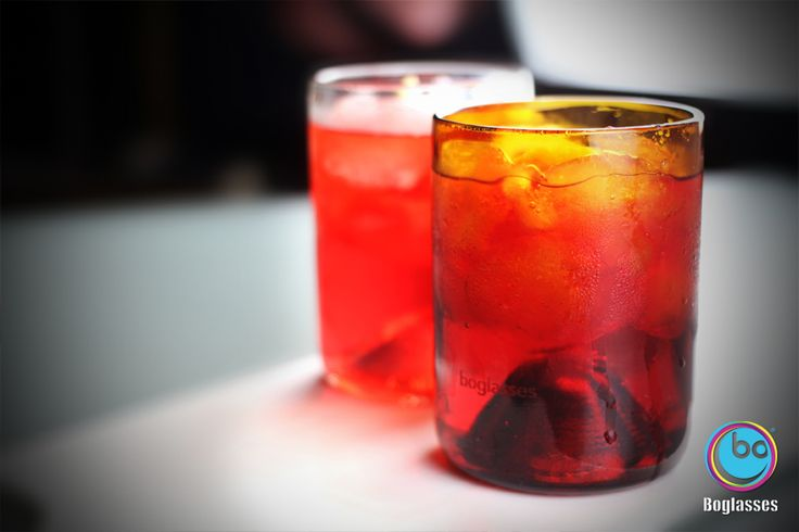 Campari on the rocks! #boglasses is often happy hour...