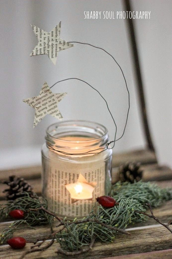Shabby Soul:My Christmas Decorations - Star lanterns