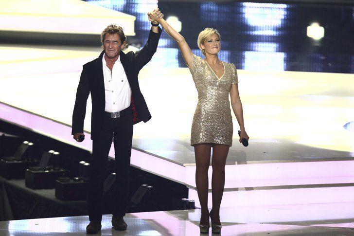 Pin for Later: 40 Stars, die auch nicht genug von Helene Fischer bekommen Mit Peter Maffay