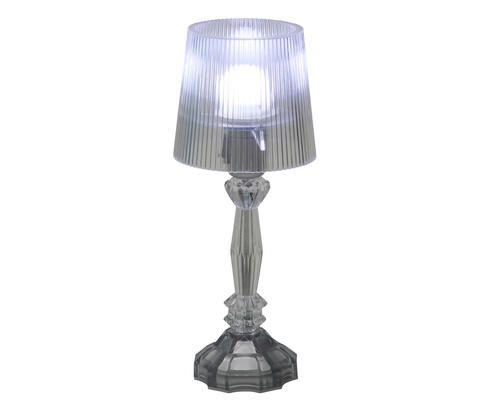 #Lampada da tavolo in acrilico trasparente tiffany colore Trasparente  ad Euro 79.00 in #Sheratonn italiana s p a #Lampsluminaires lampsluminaires
