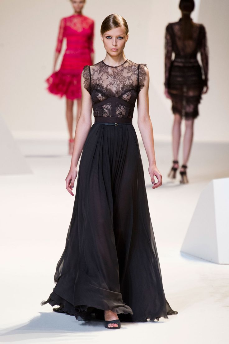 Tadashi shoji at new york fashion week spring 2013 stylebistro - Elie Saab At Paris Fashion Week Spring 2013