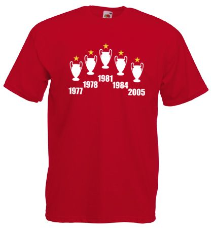 £9.99 - #European Cup #Champions League #Mens Football #T-Shirt #Liverpool Inspired - Worldwide delivery