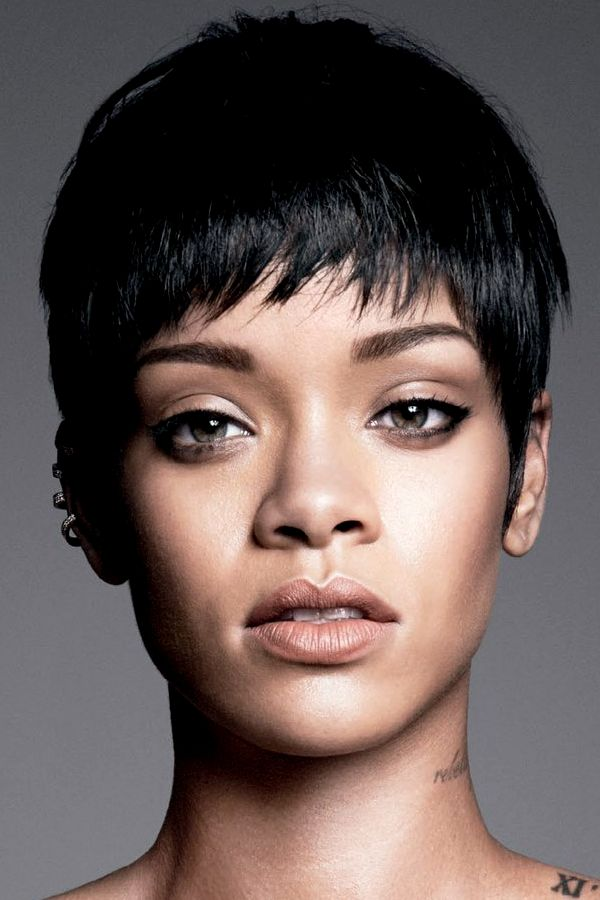 Rihanna- her face is so alienesque and gorgeous. I love it ...