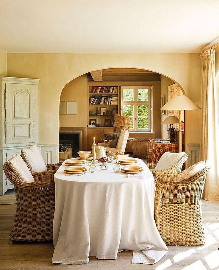 Despre casa cu terase si interioare rustice for Case cu terase
