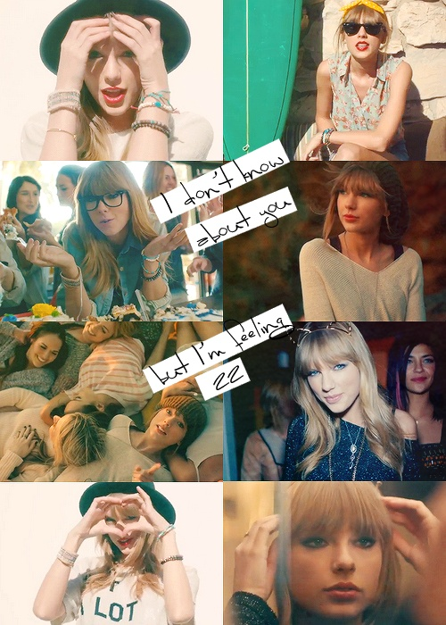 Taylor Swift, 22. 30 day TS challenge, day 4. Favorite music video.