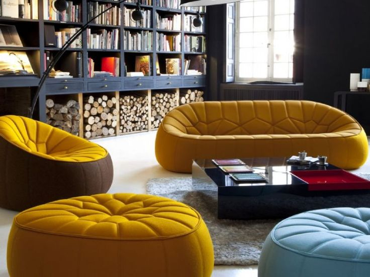 Ligne Roset   Ottoman Sofa And Lounger