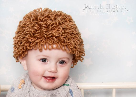 Cabbage Patch Hat by NMJCrochetCreations on Etsy, $20.00