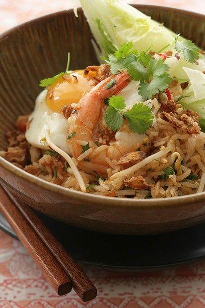 How to cook with Asian condiments - Kecap Manis. Jill Dupleix's nasi goreng. Photo: Marina Oliphant