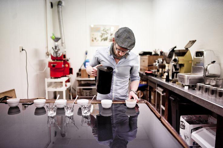 Cupping - Jacobsen & Svart - Coffee Roastery - Norway - Trondheim