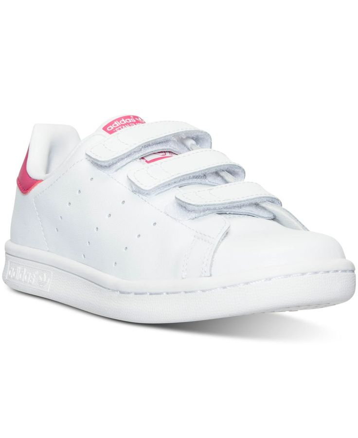 adidas Little Girls\u0027 Stan Smith Casual Sneakers from Finish Line - Finish  Line Athletic Shoes - Kids \u0026 Baby - Macy\u0027s