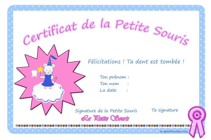 La petite souris est la version française de la fée des dents.