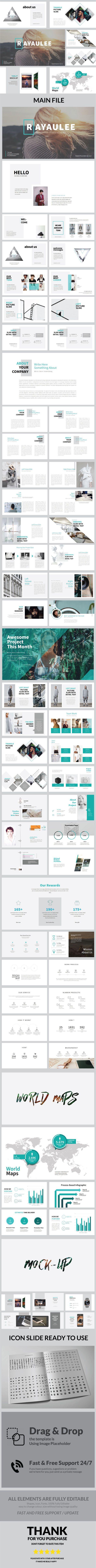Raya Ulee Multipurpose Powerpoint Template