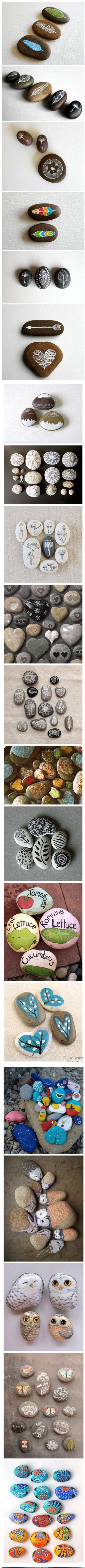 So many types and styles. Painted rocks. beautiful.