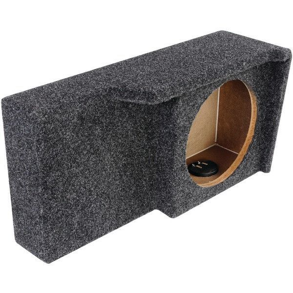 """BBox Series 10"""" Subwoofer Boxes for Ford(R) Vehicles (Single Downfire) - ATREND - A371-10CP"""