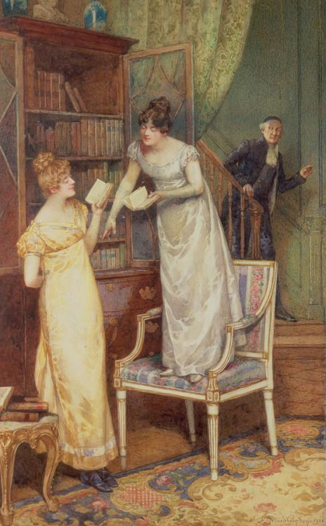 Prying Eyes (1901). Henry Gillard Glindoni (English, 1852-1913).