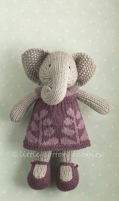 Elephant. I love the dress!
