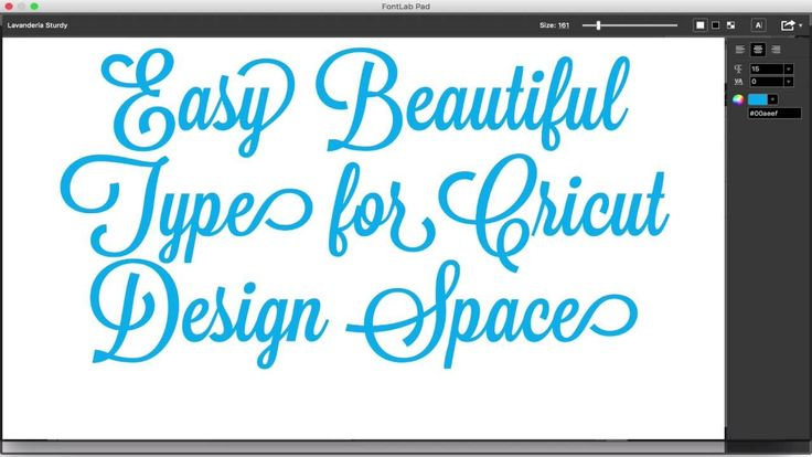 How to use a free utility called FontLab Pad to take advantage of the designer-included features of your fonts including letter spacing, ligatures and altern...