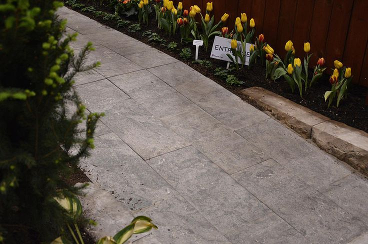 "SILVER VALLEY   STONE TYPE: LIMESTONE   TOP FINISH: BRUSHED   BOTTOM FINISH: SAWN   EDGE FINISH: SAWN   DIMENSIONS: 1'X1' TO 2'X3'   THICKNESS: 1"", 1.25"", 2"", 6""   ALSO AVAILABLE IN:  COPING, TREADS, STEPS"