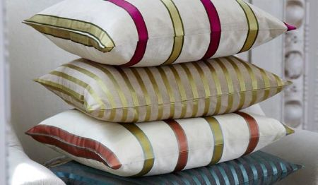 Ashburn Silks Fabric Collection - Soft, beautiful cushions, perfect for any home.