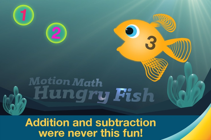144 best images about math apps on pinterest mental for Hungry fish game