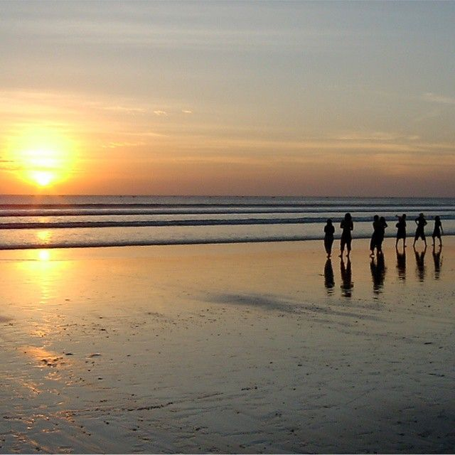 Kuta Sunset... One the best place to spend your day during your #bali #holidays