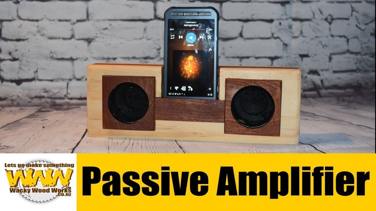 Passive Amplifier - Off the Cuff - Wacky Wood Works.