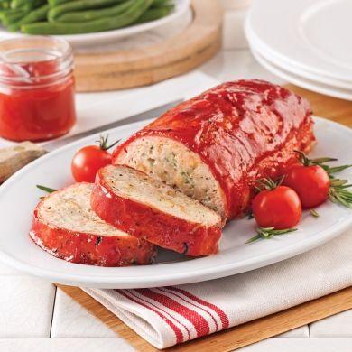 Pain de viande à la volaille et au bacon - Recettes - Cuisine et nutrition - Pratico Pratique
