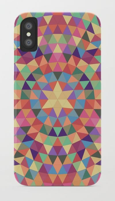 SOLD: Happy Triangle Mandala iPhone / Samsung Galaxy Case  by David Zydd  #artwork #society6art #productdesign #gift #christmas