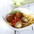 Italiaanse gehaktballetjes in tomatensaus - recept - okoko recepten