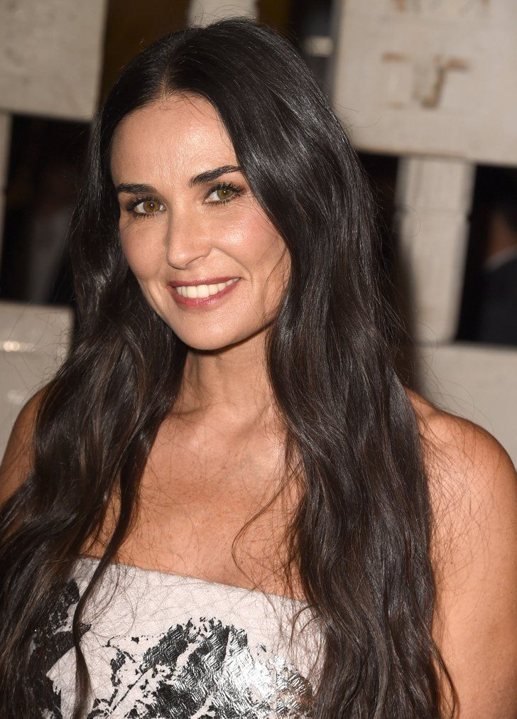 Speak demi moore strip videos