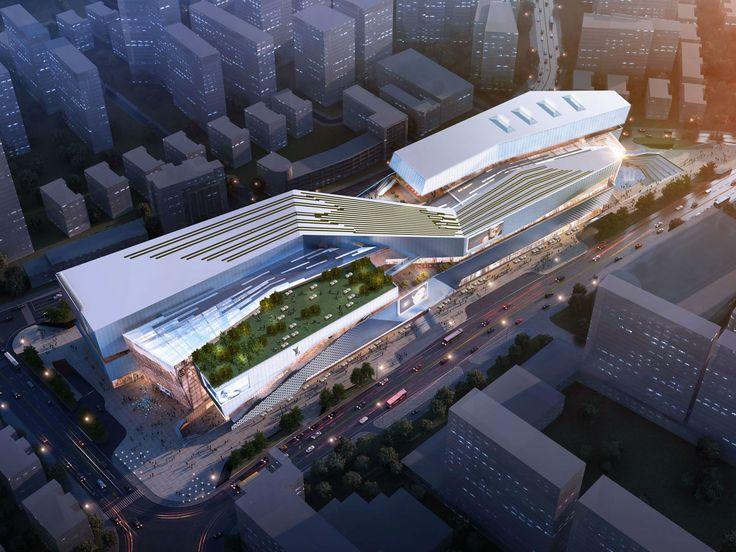 Urban Living Plaza In Yiwu Architectural Design