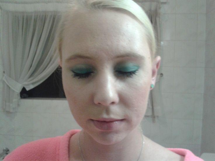 Mermaid Inspired eye-shadow!!!