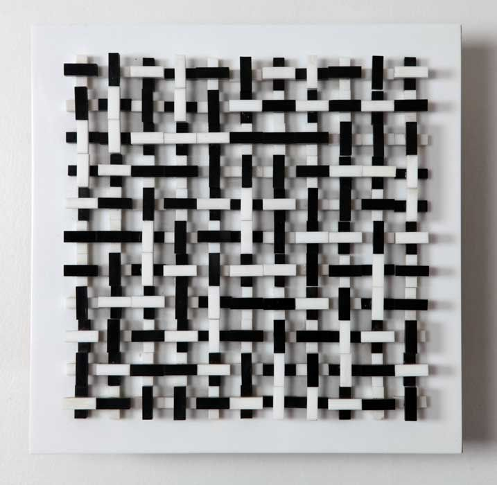Peter Lowe, Permutation of rows, 1968.