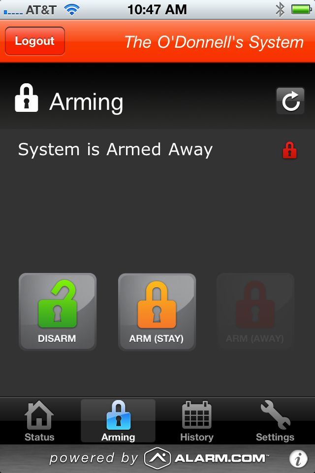 Review: Alarm.com Interactive Home Alarm Monitoring Service