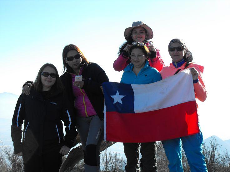 Trekkking Cerro  La Mesa  o Mercachas   Julio   2015