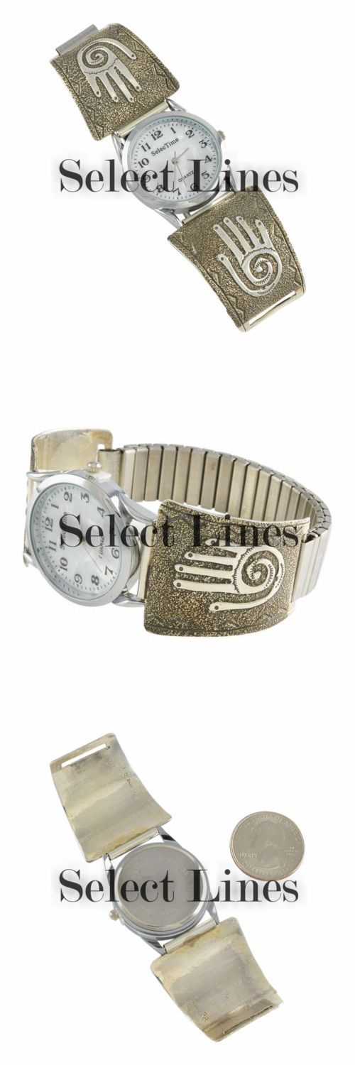 Watches 98502: Raymond Begay Sterling Silver Petroglyph Mens Watch Navajo Native American -> BUY IT NOW ONLY: $72 on eBay!